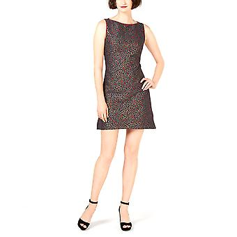 Betsey Johnson | Leopard-Jacquard Fit & Flare Dress