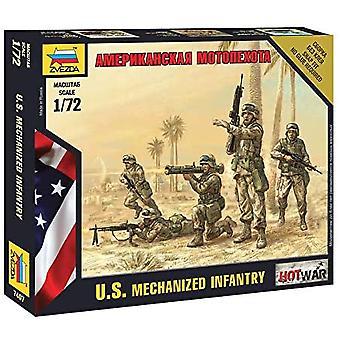 Zvezda Z7407 American Infantry Model Kit