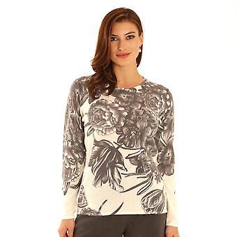 POMODORO Pomodoro Grey Sweater 32056