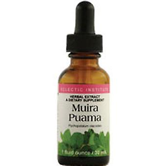 Eclectic Institute Inc Muira Puama, 1 Oz with Alcohol