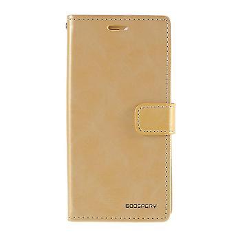 MERCURY GOOSPERY Sininen kuu iPhone 12 Mini - Kulta