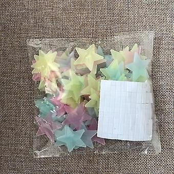 Night Luminous Stars Sticker, Glow In The Dark