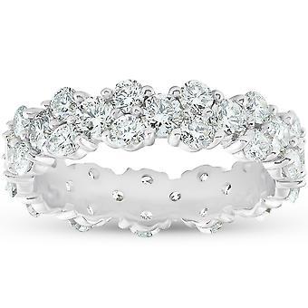 2 3/4 ct Diamond Eternity Ring Womens Wedding Anniversary Band