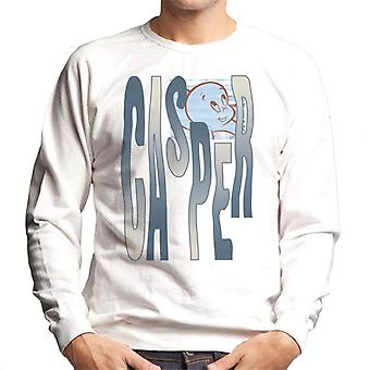 Casper The Friendly Ghost Spooky Waves Men's Sweatshirt