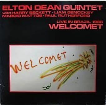 Elton Dean - Welcomet: Vivre dans l'importation de USA Brésil 1986 [CD]
