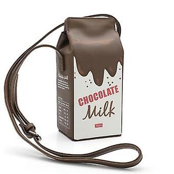 Milk Box Shaped Damskie torby na ramię-mini portfel