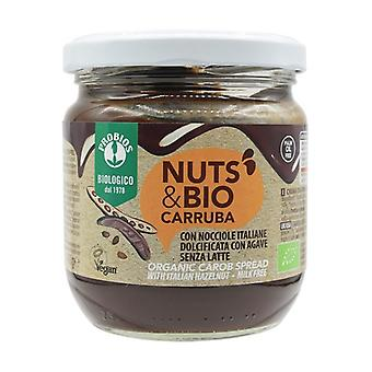 Nuts & bio with carob 400 g of cream
