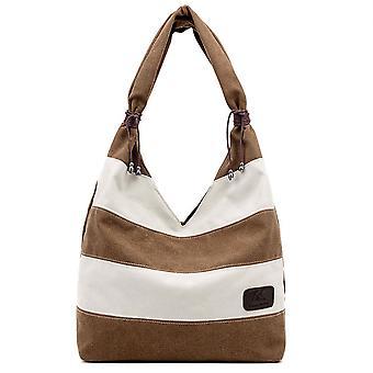 السيدات بسيطة قماش حقيبة