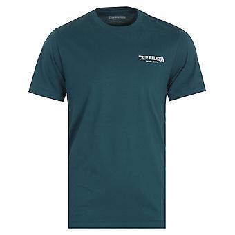 True Religion Small Arch Logo Ink Blue T-Shirt