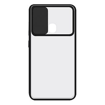 Mobile Phone Case with TPU Edge Samsung Galaxy A31 KSIX Duo Soft Cam Protect Black