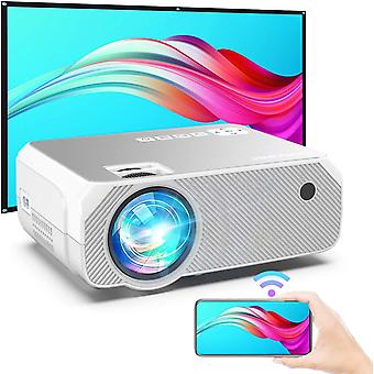 WiFi Projector, Wireless Screen Mirroring and Cast Screen