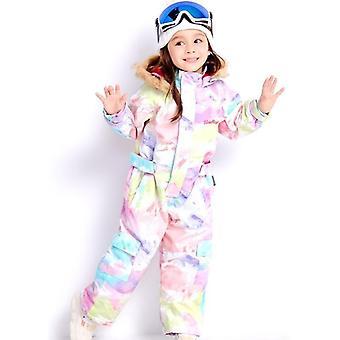 子供の屋外スポーツ - 防水フード付きスキースーツ