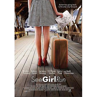 Se jenta kjøre film plakat (11 x 17)