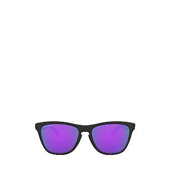 أوكلي OO9013 نظارات شمسية سوداء غير لامع للجنسين