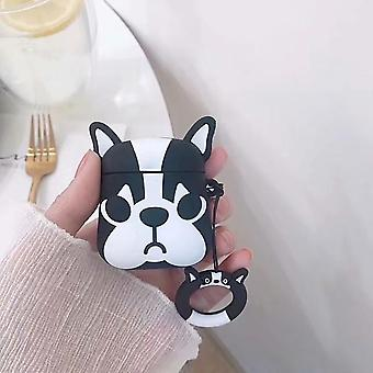 Airpods Case Ringholder Shockproof Cartoon Pattern Protective
