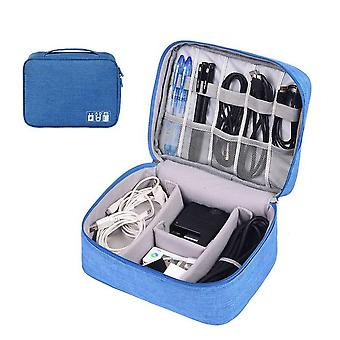 Travel Portable Digital Cable Usb Gadget Organizer Charger Wires, Cosmetic