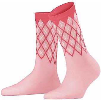 Calcetines Burlington Mayfair - Flamingo Pink