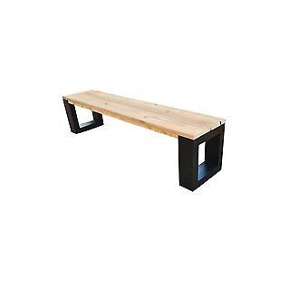 Wood4you - New Orleans Bank - Gerüstholz 160Lx40Hx38D cm