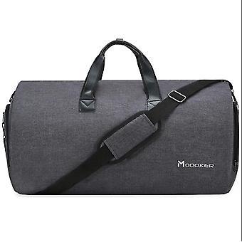 Duffel reseväska med axelrem, fortsätt hängande resväska