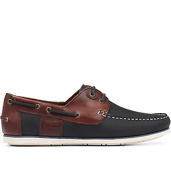 Barbour Mens Capstan Leather Boat Shoe