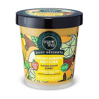 Kehon jälkiruoka - Restorative body scrub Mango sorbet 450 ml kermaa