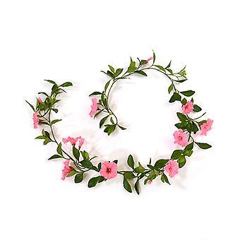 Kunstmatige Petunia Garland Deluxe 180 cm roze