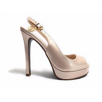 Sapatos femininos Trussardi Jeans Open Toe Tc 110 Pl 25 Tinta em Pó Ds17tj02