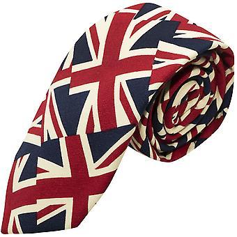 Corbata de diseño Union Jack