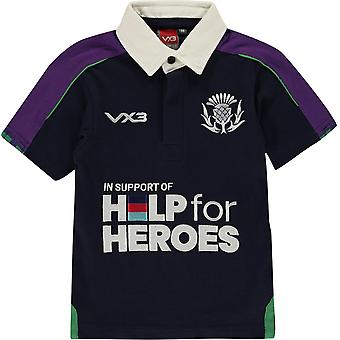 VX-3 3 Help For Heroes Scotland Shirt Junior Boys