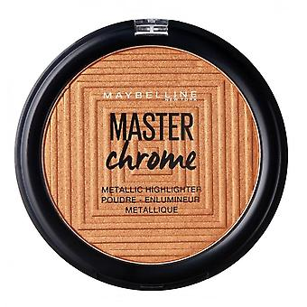 Maybelline Master Chrom Metallic Highlighter - 150 geschmolzene Bronze