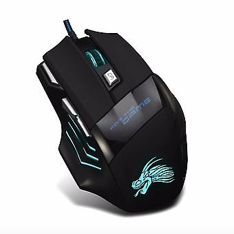 Huguang Usb Gaming Mouse / Computer Backlit Photoelectric Usb Wired Mouse