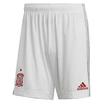 2020-2021 Spanien Borta Shorts (Vit)