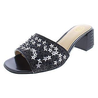Ash Womens Ruby Star Stars Metallic Heels