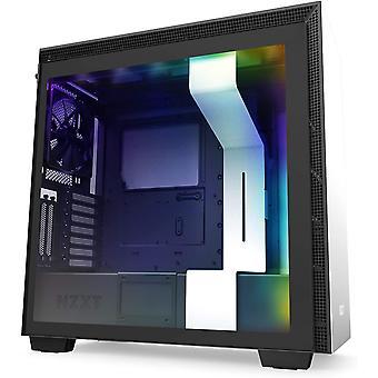 HanFei H710i - ATX-Mid-Tower-Gehuse fr Gaming-PCs - Front USB-C Port - Gehärtetes Glas-Seitenfenster