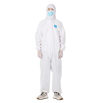 Coverall disposable isolation suit prevent invasion for staff protective clothing dust-proof coveralls antistatic