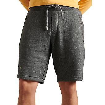 Superdry Orange Label Classic Shorts - Mid Grey Texture
