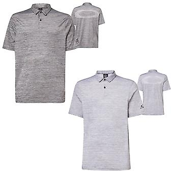 Oakley Mens 2021 Competidor Heather Hydrolix Wicking Golf Polo Shirt