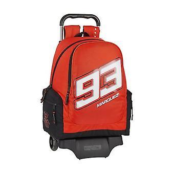 School Rucksack with Wheels 905 Marc Marquez Black Red