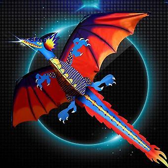 Dragon zmeu cu coada pentru adulti, zmee care zboară în aer liber