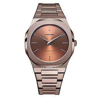 D1 milano watch chocolate d1-utbj10
