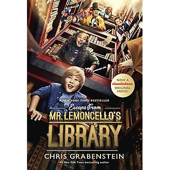 Escape from Mr. Lemoncellos Library Movie TieIn Edition by Chris Grabenstein