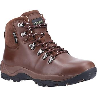 Cotswold Mens Barnwood Leather Hiking Boots
