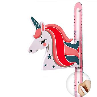 3d Children Growth Magnetic Measuring Height Ruler Removable Wall Decor