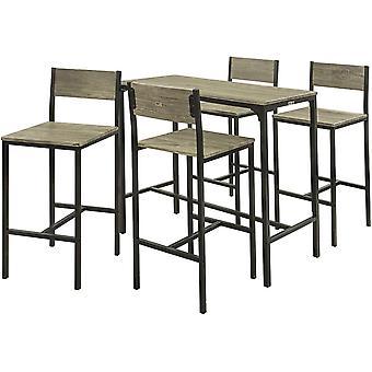 SoKupy Zestaw 4 stołków Do jadalni Zestaw krzeseł barowych, OGT14