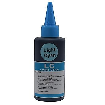 InkLab Universal Refill Ink For Brother/Canon/Epson Light Cyan100ml