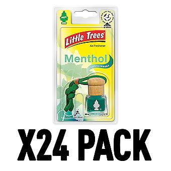 Menthol (Pack Of 24) Little Trees Bottle Air Freshener