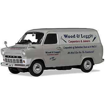 Corgi Ford Transit Wood och Leggit Carpenters Diecast Modell