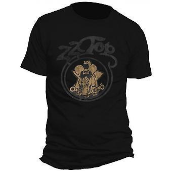 ZZ Top - Outlaw Village Men's X-Large T-Shirt - Black