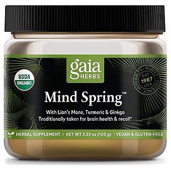 Gaia Herbs Mind Spring, 0, 3.5 Oz