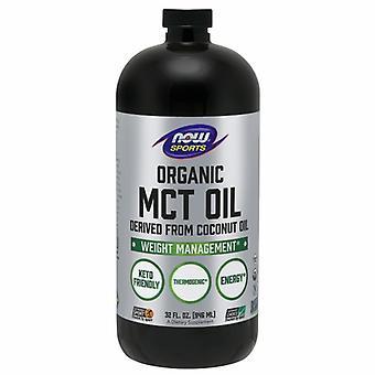 Nyt Elintarvikkeet Orgaaninen MCT Öljy, 32 Oz